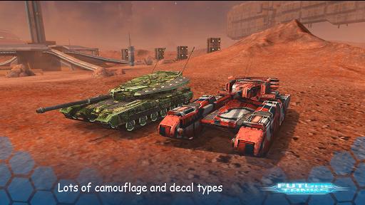 Future Tanks: Action Army Tank Games screenshots 3