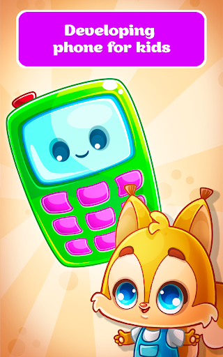 Babyphone - baby music games with Animals, Numbers  screenshots 1