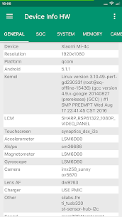 Device Info HW+ Apk 5.2.1 (Paid/Patched) 1