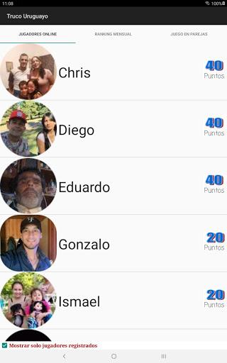 Truco Uruguayo apktram screenshots 11