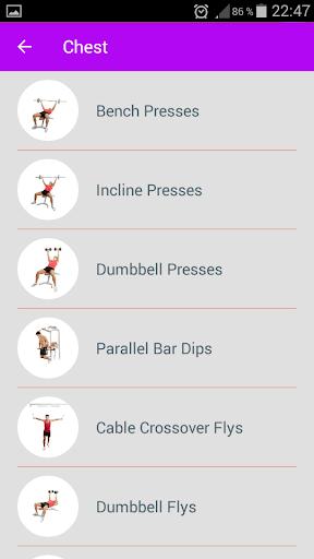 Fitness & Bodybuilding Pro 1.0 Screenshots 2