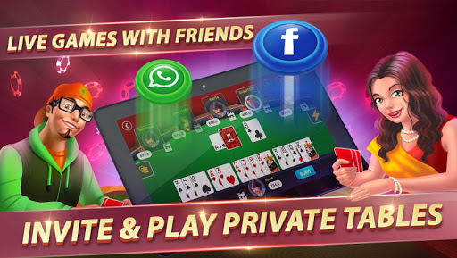 Rummy King – Free Online Card & Slots game apklade screenshots 1