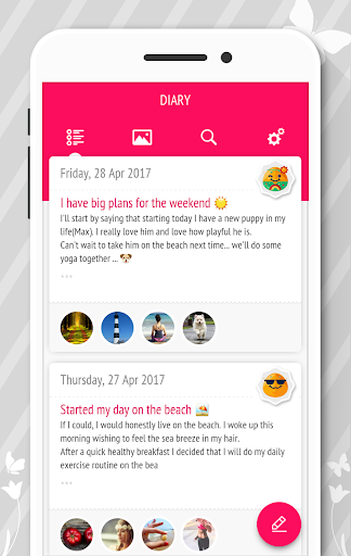 Diary - Journal with password 1.7.3 screenshots 10