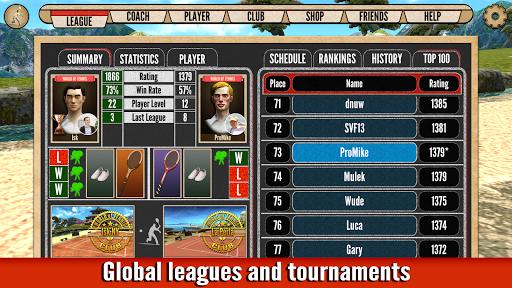 World of Tennis: Roaring u201920s u2014 online sports game  screenshots 5