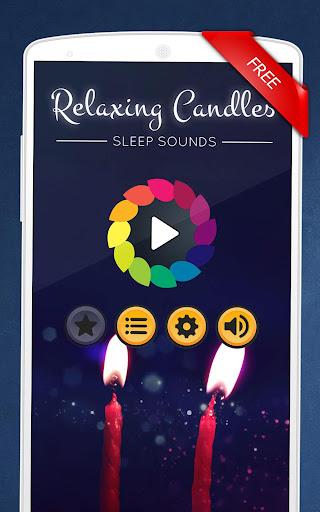 Relaxing Candles: music, sleep, meditation  screenshots 1