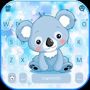 Cartoon Koala Keyboard Theme