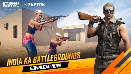 Battlegrounds Mobile India (APK+OBB) Download BGMI 3