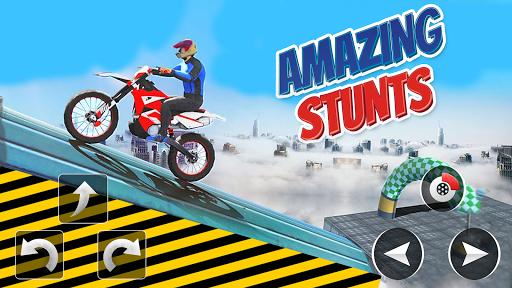 Police Bike Stunt Games : 3D Mega Ramp Stunts Game  screenshots 2