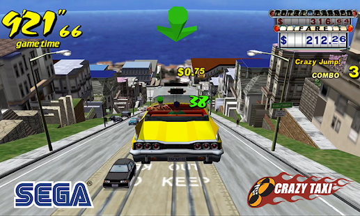 Crazy Taxi Classic Screenshot