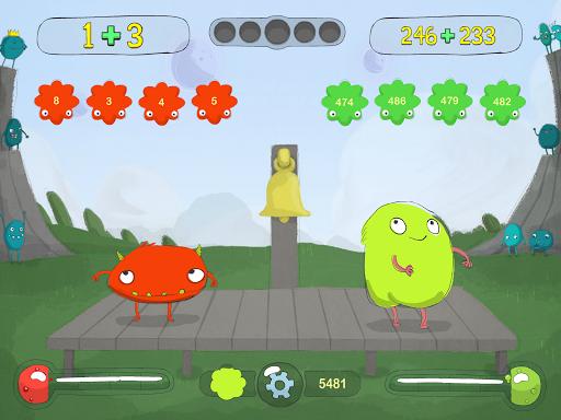 monster matematik mini - matematik spil screenshot 3