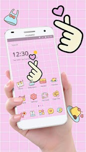 Pink Finger Love Romantic Theme 1.1.3 Mod + Data Download 1