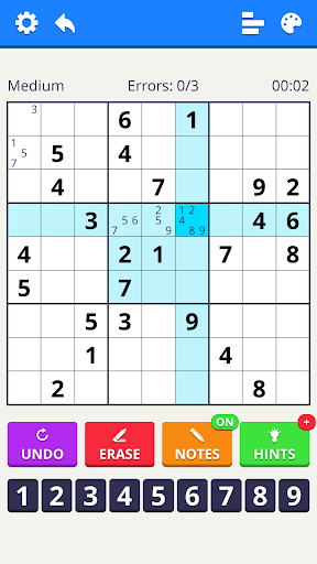 Numbers Puzzle 2021 - free classic puzzle game 1.2.0 screenshots 5