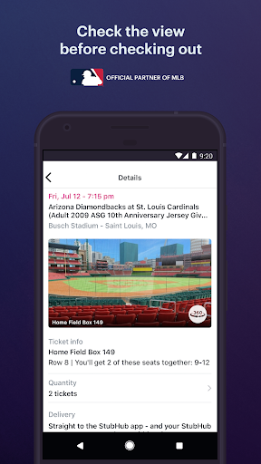 StubHub - Live Event Tickets modavailable screenshots 3