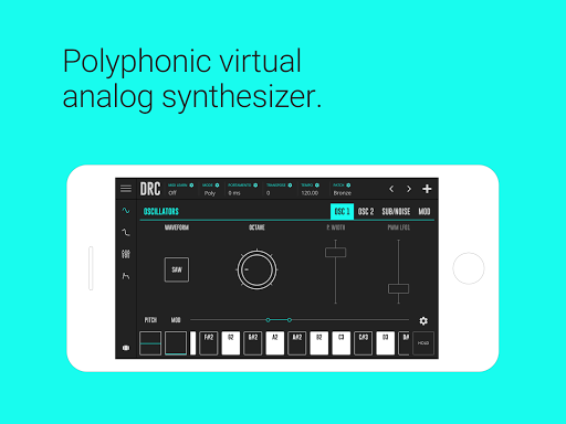 DRC - Polyphonic Synthesizer modavailable screenshots 1