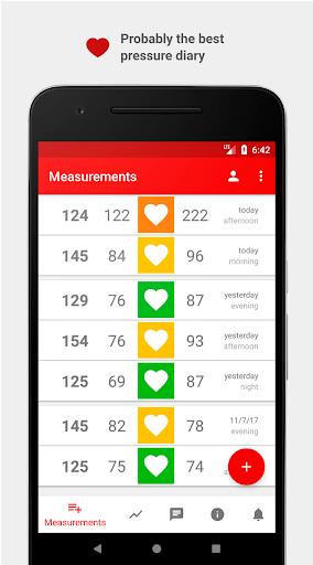 Cardio Journal u2014 Blood Pressure Log  Screenshots 1