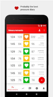Cardio Journal u2014 Blood Pressure Log 3.2.7 Screenshots 1