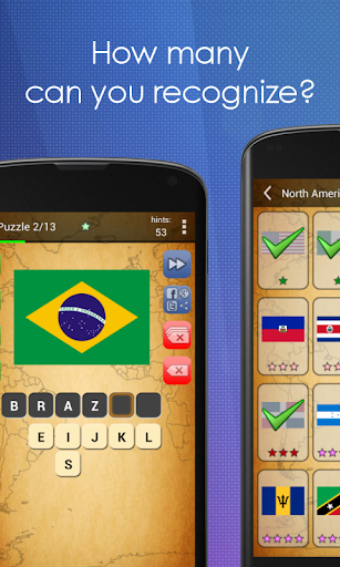 Picture Quiz: Country Flags 2.6.7g screenshots 7