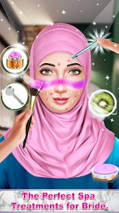 hijab wedding makeup and salon hack