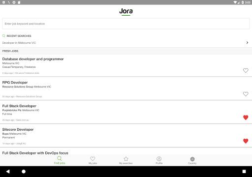 Jora Jobs - Job Search, Vacancies & Employment 2.26.1 (4431) Screenshots 7