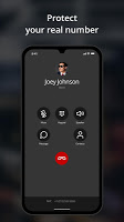 screenshot of Hushed - Second Phone Number - Calling and Texting