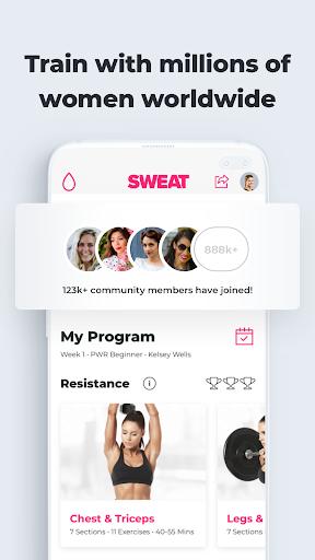 SWEAT: Fitness App For Women 5.17.8 Screenshots 8