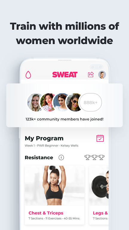 SWEAT: Fitness App For Women  poster 7