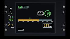 新幹線っぽい速度計のおすすめ画像5