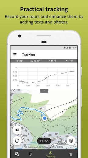 Outdooractive: Hiking & Biking Trails, GPS & Maps 3.3.28 Screenshots 5
