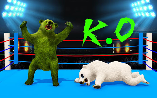 Wild Bear Ring Fighting: Wild Animal Adventure apklade screenshots 1