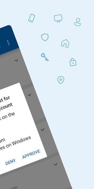 Microsoft Authenticator screenshot 1