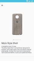 screenshot of Moto Z Market