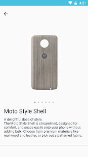 Moto Z Market Screenshot