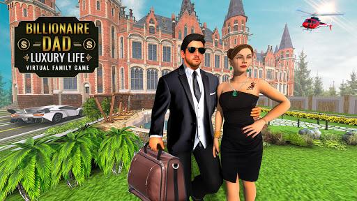 Billionaire Dad Luxury Life Virtual Family Games 1.1.5 screenshots 5