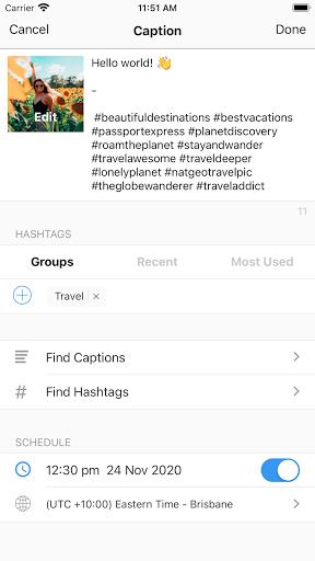 Preview - Plan your Instagram apktram screenshots 2