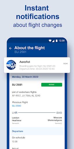 Aeroflot u2013 buy air tickets online 4.4.0.606 Screenshots 7
