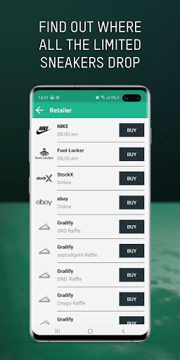 Grailify - Sneaker Release Calendar  Screenshots 7