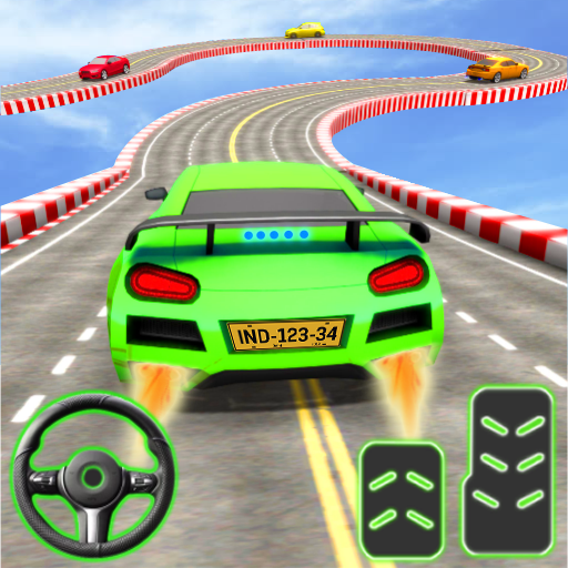 Car Stunt Ramp Race - Impossible Stunt Games