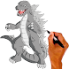 How to draw Godzilla monsters - Androidアプリ