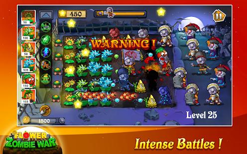 Flower Zombie War 1.2.6 Screenshots 13