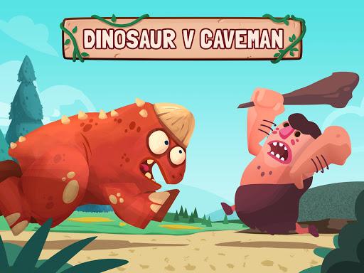 Dino Bash - Dinosaurs v Cavemen Tower Defense Wars screenshots 1