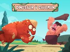 Dino Bash - Dinosaurs v Cavemen Tower Defense Warsのおすすめ画像1