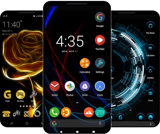 Launcher for Android u2122 v1.4.6 Screenshots 1