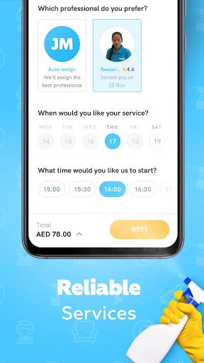 Justmop: Home Services 5.10.1 Screenshots 5