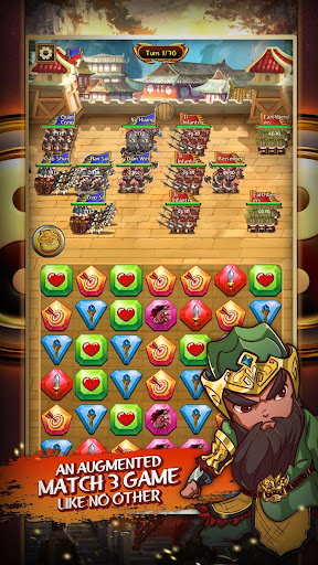 Match 3 Kingdoms: Epic Puzzle War Strategy Game apkslow screenshots 3