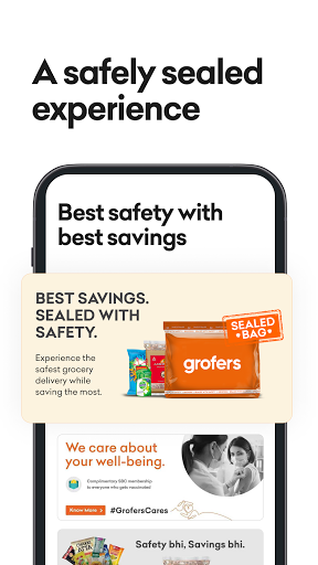 grofers-grocery delivered safely with SuperSavings apktram screenshots 5