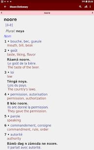 Dictionnaire Mooré