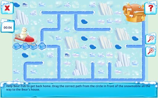 Polar Bear Cub - Fairy Tale with Games Free  screenshots 21