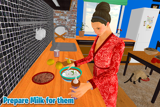 Virtual Babysitter: Babysitting mother simulator 4 screenshots 3