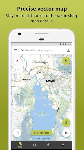 Outdooractive: Hiking & Biking Trails, GPS & Maps 3.3.28 Screenshots 1