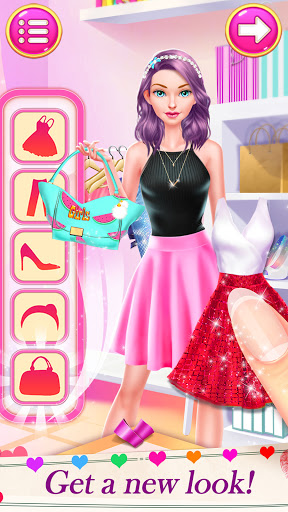 High School Date Makeup Artist - Salon Girl Games 1.1 screenshots 6